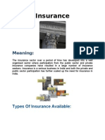 Types of Insurance