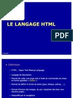 Le Langage HTML+Formulaires