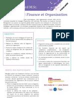 Brochure MSc Finance