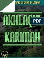 Akhlaqul  Karimah