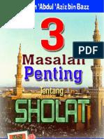 3 Masalah Penting tentang Shalat
