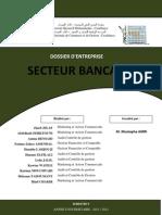 Rapport Final - Dossier d'Entreprise - Secteur Bancaire