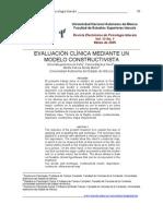 Evaluacion Mediante Metodo Constructivista