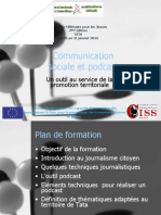 Communication Sociale et Podcast