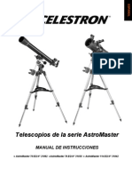 Manual Telescopio Celestron Astromaster 70 EQ