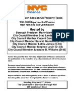 Property Tax Flyer