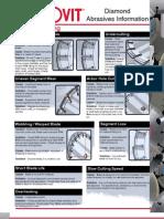 Flexovit Abrasives - Troubleshooting Diamond Abrasives