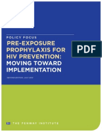 Policy Focus | Pre-Exposure Prophylaxis for HIV Prevention