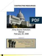 Army Source Selection Manual 2009