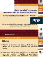 Orientaciones para la prevención de adicciones en escuelas de educación básica