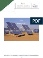 Programa Projectistas de Instalacao de Equip. Solares Termicos