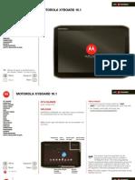 Verizon Wireless Motorola Droid Xyboard 10.1 Manual