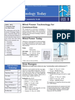 RERL Fact Sheet 1 Wind Technology