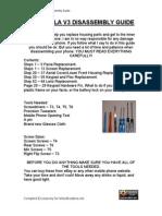 Manual Desarme Motorola V3 1