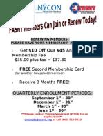BJs Information for FASNY Members