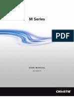 020 100009 05 Christie M Series User Manual