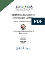 RFID Based Employee Attendance System