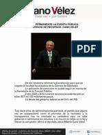 21-02-12 REVISAR  PERMANENTE LA CUENTA PÚBLICA Y EL EJERCICIO DE RECURSOS