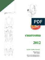 Cuaresma 2012 para jóvenes y adultos