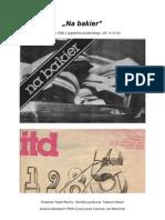 """""""Na bakier"""" - artykuł o czapce studenckiej z 1985 roku"""