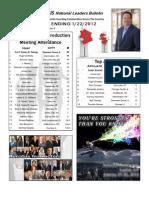 Renatus Bulletin 1.22.12