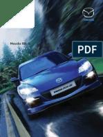 MazdaRX-8 Brochure August 2009
