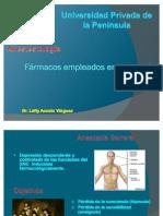 Farmacos en Anestesia General