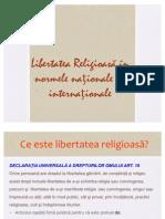 Norme de Libertate Religioasa