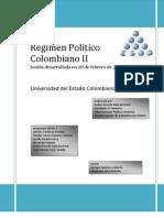Regimen Politico Colombiano II
