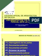 Los Arquitectos y El Dictamen Pericial Ante La LEC
