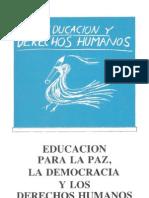 Seminario Educacion Paz, Democracia y DDHH
