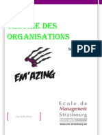 Cour de Theorie Des Organ is at Ions Version Definitive