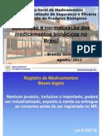 Registro de Produtos Biologicos 2011