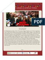 UCM Green Campus December 2011 Newsletter