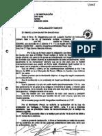 Declaración testigo protegido J70 ante el Juez de Instrucción