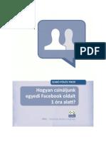 Hogyan csináljunk egyedi Facebook oldalt 1 óra alattt