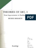 Barasch, Theories of Art, Dilthey