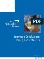 Employee Development Through Volunteerism Blue Paper
