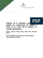 Analisis Literatura Sector Madera