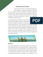 Import an CIA Del Petroleo