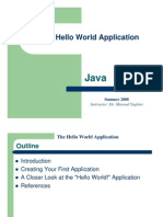 02_The Hello World Application