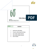 Taller Seis Sigma II - Analizar