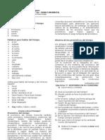 7º ano 1º BIM P1 - Tempo, Previsão do Tempo 2012