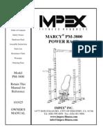 PM-3800 manual