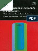 Segura J., Braun C. (Eds.) an Eponymous Dictionary of Economics (Elgar, 2004)(ISBN 1843760290)(309s)_GG