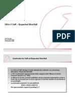 Expected Shortfall vs VAR - UCG