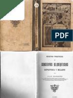 1920 - Recetas Practicas de Conservas Alimenticias - Reposteria y Helados