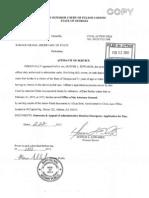 2012-02-22- FARRAR v OBAMA - Proof of Service - Taitz