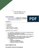 Guía de trabajo 901
