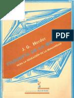 Herder - Filosofia de La Historia Para La Educacion de La Humanidad